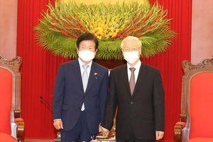 'Chủ tịch Quốc hội Hàn Quốc muốn nâng tầm quan hệ với Việt Nam'