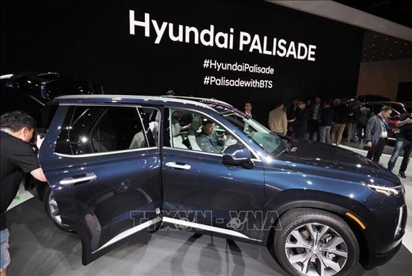 Doanh số ô tô của Hyundai và Kia tại Mỹ gia tăng