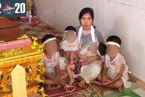 Báo PNVN trao 4 triệu đồng hỗ trợ gia đình 'bố mất đột ngột, mình mẹ nuôi 2 cặp sinh đôi'