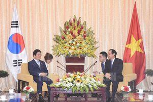 Chủ tịch Quốc hội Hàn Quốc thúc đẩy hợp tác với TP.HCM
