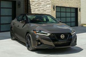 Nissan Maxima 2021 được ra mắt tại Mỹ, đối đầu Toyota Avalon