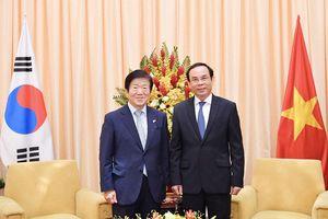 Thúc đẩy doanh nghiệp Hàn Quốc tăng cường đầu tư vào TPHCM