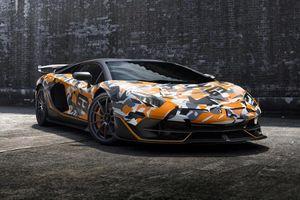 Siêu xe Lamborghini Aventador SVJ 63 lấy cảm hứng từ xe đạp