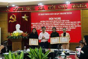 Quận Thanh Xuân tạo dấu ấn đặc biệt qua 2 cuộc thi Tìm hiểu pháp luật