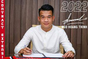 Tiền vệ Ngô Hoàng Thịnh ký hợp đồng mới với CLB TP.HCM
