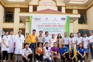 Công ty Cổ phần Dược phẩm TV. Pharm và hành trình tình nguyện chung tay hỗ trợ người dân miền Trung