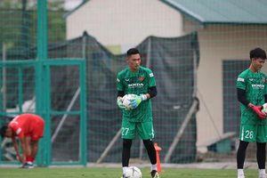 Thủ môn Trịnh Xuân Hoàng: 'HLV Park Hang-seo quan tâm đặc biệt đến vị trí thủ môn'