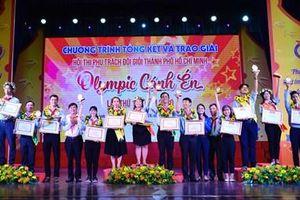 Trao giải Hội thi Phụ trách Đội giỏi 'Olympic Cánh én' năm 2020