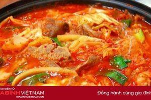 Bí quyết nấu canh kim chi thịt bò chuẩn vị truyền thống Hàn Quốc