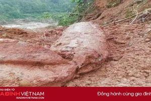 Phát hiện bom nổ chậm sau lũ, Quảng Bình cấm đường 1 tuần
