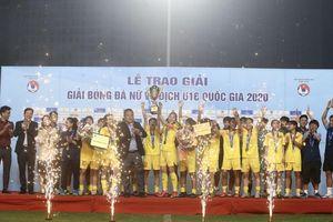 Dự tuyển U16 Quốc gia giành 'cú đúp' giải thưởng