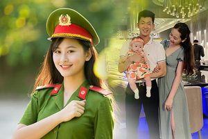 Hoa khôi Học viện Cảnh sát lấy chồng, sinh con vẫn tốt nghiệp loại giỏi
