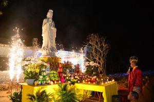 Hải Phòng : An vị tôn tượng Đức Quán Thế Âm tại chùa Quảng Luận