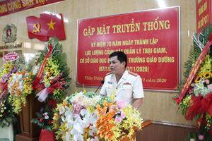 Trại tạm giam Công an các tỉnh tổ chức gặp mặt 70 năm ngày truyền thống