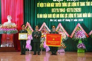 Gặp mặt kỷ niệm 75 năm Ngày truyền thống lực lượng vũ trang tỉnh Gia Lai