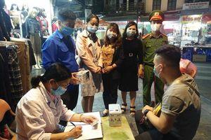Hà Nội: Tiếp tục ra quân xử phạt vi phạm trong công tác phòng chống dịch
