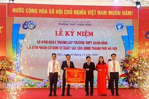 Trường chuyên đầu tiên của Hà Nội kỉ niệm 60 năm thành lập