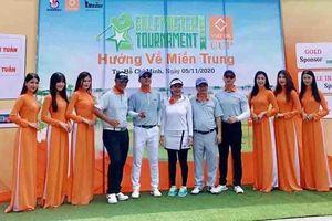 Giải golfmaster 2020 từ thiện 'Hướng về miền Trung' vận động được 6,2 tỷ đồng