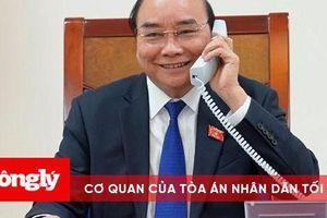 Thủ tướng Nguyễn Xuân Phúc điện đàm và tiếp khách quốc tế