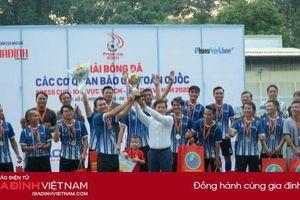 Bế mạc vòng loại Press Cup 2020 khu vực TP. HCM: TTXVN lên ngôi vô địch