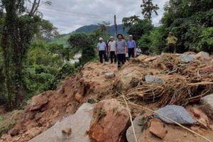 Lũ quét gây sạt lở nghiêm trọng ở Bình Định, tính phương án di dời dân