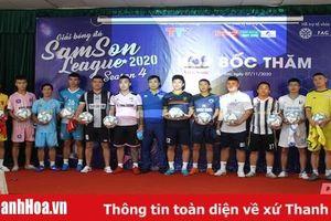 12 CLB tranh tài tại Giải vô địch các CLB bóng đá Sầm Sơn 2020