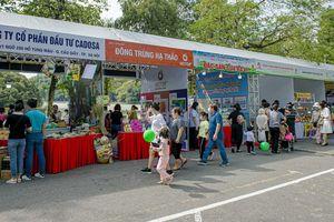 Hàng ngàn người dân Thủ đô trải nghiệm, tìm hiểu về sản phẩm thực phẩm an toàn