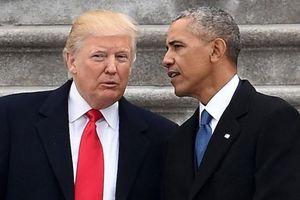 Hình tượng Tổng thống Trump và Obama trên phim ảnh