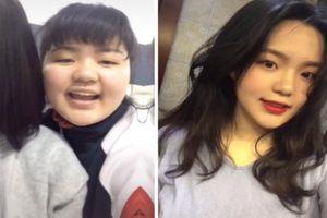 Cảm nắng 'đàn anh', gái xinh giảm liền 21kg để tiếp cận crush