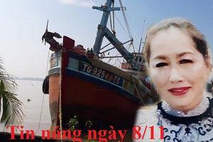Tin nóng ngày 8/11: Truy nã bà 'trùm' Mười Tường vụ buôn lậu 51 kg vàng