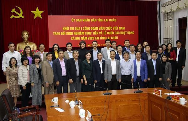 Khối thi đua I - Công đoàn Viên chức Việt Nam tổ chức các hoạt động xã hội tại Lai Châu