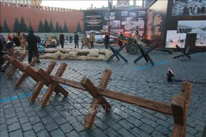 Nga tái hiện chiến dịch phòng thủ Moskva mùa Đông năm 1941