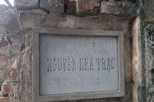 Di tích cấp Quốc gia ở Hà Nội 'kêu cứu' vì bị xâm phạm