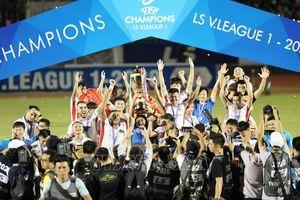 CLB Viettel giành chức vô địch V.League đầu tiên