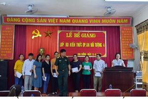 Nghệ An: Huyện Con Cuông đẩy mạnh thực hiện tốt công tác giáo dục quốc phòng an ninh