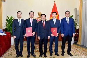 Bổ nhiệm 2 Tổng Lãnh sự Việt Nam tại nước ngoài