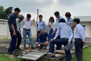 Tổ công tác số 6 của Bộ Y tế đến Quảng Ngãi hỗ trợ khắc phục hậu quả mưa lũ