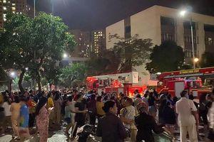 Xử lý kịp thời đám cháy tầng 19 khu Park Hill, quận Hoàng Mai