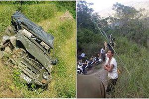 Nguyên nhân vụ ô tô lao xuống vực sâu 100 m khiến 3 người chết