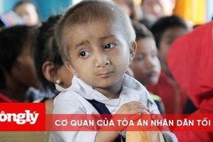 Cậu bé tí hon ở Quảng Ngãi qua đời