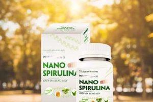 Whitening Nano Spirulina – Viên uống trắng sáng da tự nhiên từ đề tài khoa học ra thị trường