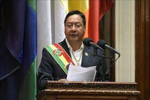 Tổng thống đắc cử Bolivia tuyên thệ nhậm chức
