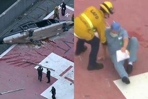 Kịch tính giây phút trực thăng gặp nạn, nội tạng của người hiến tặng bị nhân viên y tế làm rơi xuống đất