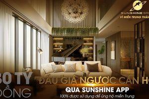 Đấu giá qua Sunshine App - Sunshine Group ủng hộ 30 tỷ cho miền Trung