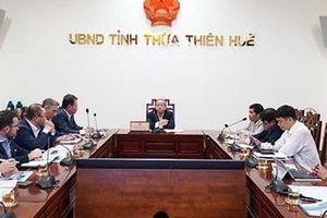 Thừa Thiên Huế: Tạo điều kiện triển khai nhà máy điện khí thiên nhiên hóa lỏng