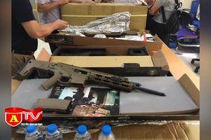 Làm làm rõ lô hàng hình dạng súng được chuyển từ nước ngoài về Việt Nam