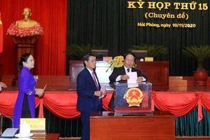Bầu 2 Phó Chủ tịch UBND Thành phố Hải Phòng