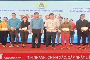 Công đoàn các tỉnh, thành trên cả nước hỗ trợ người lao động Hà Tĩnh bị ảnh hưởng mưa lũ