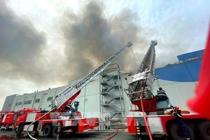 Vụ cháy lớn tại KCN Hiệp Phước: Vị trí xảy cháy bắt nguồn từ kho đông lạnh