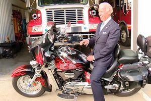 Ông Joe Biden là tín đồ xe motor phân khối lớn